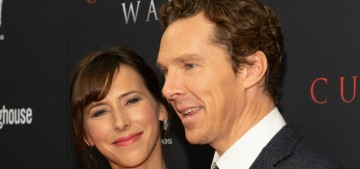 Benedict Cumberbatch & Sophie looked great at 'The Current War' premiere