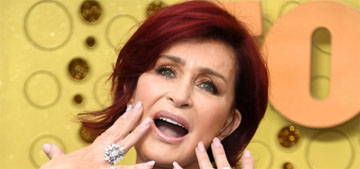 Sharon Osbourne still can't feel her mouth after her fourth facelift