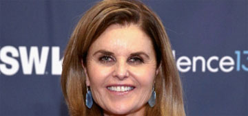 Maria Shriver wants people to get off their phones and talk: 'People don't even look up'