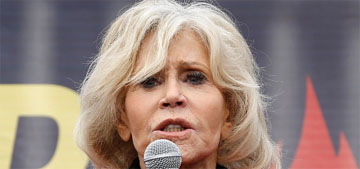 Jane Fonda accepts a BAFTA while being arrested: greatest acceptance speech?