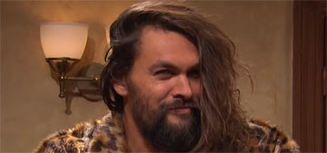 Jason Momoa's surprise appearance on SNL was everything