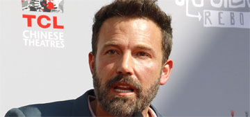 Ben Affleck's new hookup is getting a press rollout and she's been driving his car
