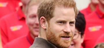 Prince Harry attends an Invictus Games team-launch event in London