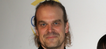 David Harbour and Lily Allen made their Instagram debut