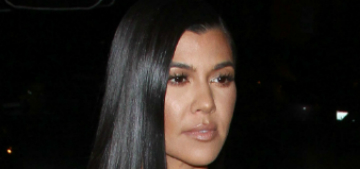 Kourtney Kardashian responds to commenter telling her to cut her son's hair