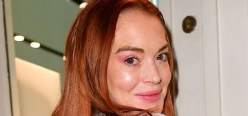 Lindsay Lohan isn't dating Mohammad bin Salman, they're 'platonic friends' lmao