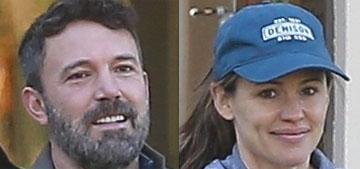 Jennifer Garner & Ben Affleck did the school run, are wearing the same color again