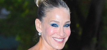 Sarah Jessica Parker was robbed of her tasteful pumpkins the night before Halloween