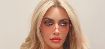 Kim Kardashian dressed up as Elle Woods for Halloween: what, like it's hard?