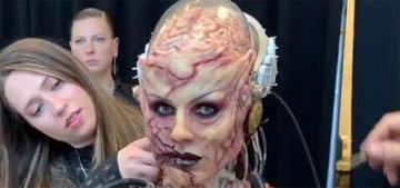 Heidi Klum's Halloween costume was even more terrifying than usual