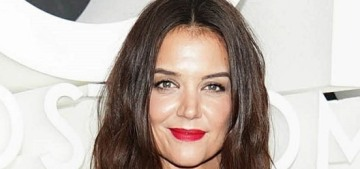 Katie Holmes: 'I'm not afraid to take a nap in the middle of the day or any time'