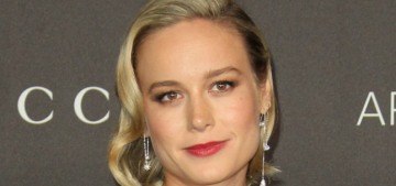 Brie Larson wore a fug Gucci gown to the LACMA Art + Film gala