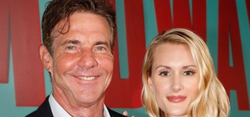 Dennis Quaid: It's 'basic etiquette' to marry within one year of the proposal