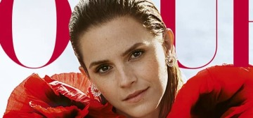 Emma Watson is 'very happy' being single: 'I call it being self-partnered'