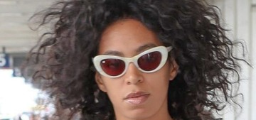 Solange Knowles on the rumor that she cheated with her ex-manager: it's 'so untrue'