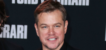 Matt Damon is afraid of heights and doesn't understand how Tom Cruise does it