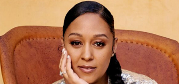 Tia Mowry on nursing: I literally have to pick up my boobs to see my waist