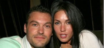 Megan Fox & Brian Austin Green fought over whether to keep glitter in the house