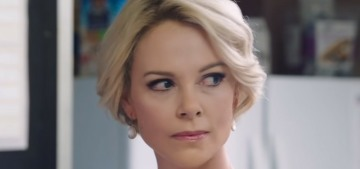 Charlize Theron transformed into Megyn Kelly through… prosthetic eyelids?!