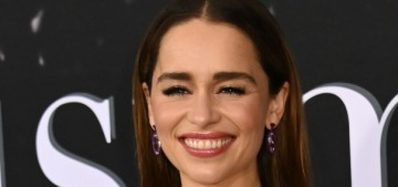 Emilia Clarke wishes people would stop spoiling the big 'twist' of 'Last Christmas'