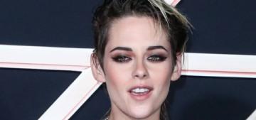 Kristen Stewart in Germanier at the LA 'Charlie's Angels' premiere: super-cute?