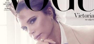 Victoria Beckham covers Vogue Poland, says motherhood is her most important role