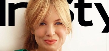 Renee Zellweger on actorly emotions: 'I don't personalize things & I don't engage'