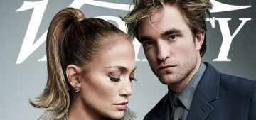 Jennifer Lopez called Rob Pattinson 'Bobby' in their Variety interview & it was amazing