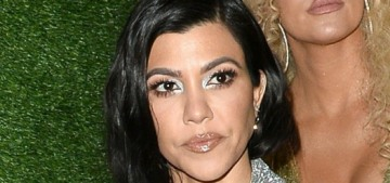 Kourtney Kardashian served salads at her daughter's Candyland-themed party