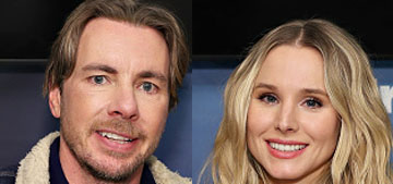 Kristen Bell gets turned on when husband Dax helps around the house