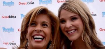 Hoda Kotb & Jenna Bush Hager got weighed on TV before starting intermittent fasting