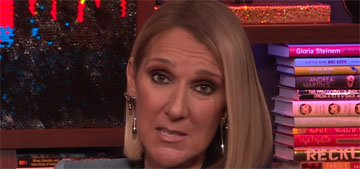Celine Dion isn't dating, but will tell us about it if she does
