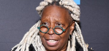 Whoopi Goldberg's 20-year-old cat poops on anyone in bed with Whoopi