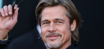 Brad Pitt has been spending time with Alia Shawkat but 'they're absolutely just friends'