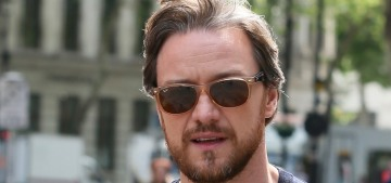 James McAvoy at 5'7″: 'I sometimes get told I'm too short for a role'