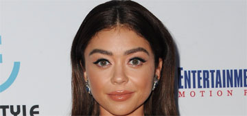 Sarah Hyland shares unflattering photo: 'it's ok to be insecure about your body'