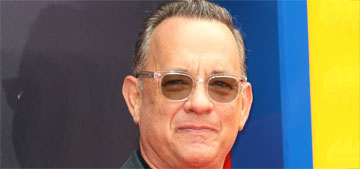 Tom Hanks will take selfies when he finds an unattended phone