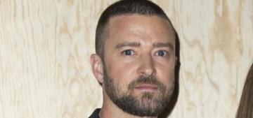 Justin Timberlake & Alisha Wainwright were seen leaving the same trailer