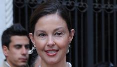 Ashley Judd is getting her master's degree at Harvard