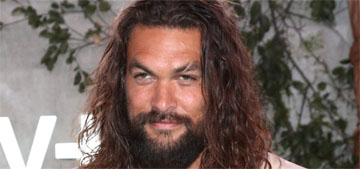 Jason Momoa: I'm just the hot dude this second, then I'll go back to little movies