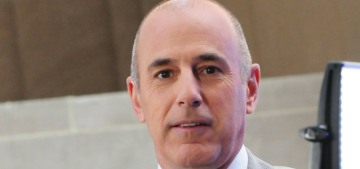 Matt Lauer is 'angry' about how he's being treated, he 'hasn't been taking things well'
