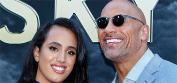 Dwayne Johnson's daughter noticed he kept getting lost, made him use google maps