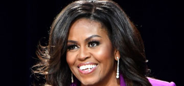 Michelle Obama is donating over half a million to girls' education