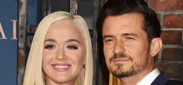 Katy Perry & Orlando Bloom have postponed their destination wedding, hm…