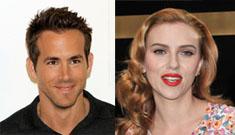 Scarlett Johansson & Ryan Reynolds are fighting over jealousy & babies