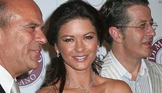 Catherine Zeta-Jones wears $2 million of diamonds