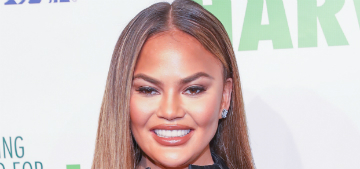 Chrissy Teigen describes the private luxury terminal at LAX for celebrities
