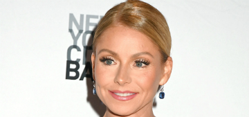 Kelly Ripa got plastic surgery to fix her earlobes after wearing too-heavy earrings