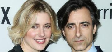 Noah Baumbach & Greta Gerwig got squirrelly about the start of their relationship