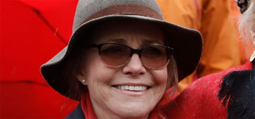 Sally Field arrested protesting climate change too: 'We can do something'